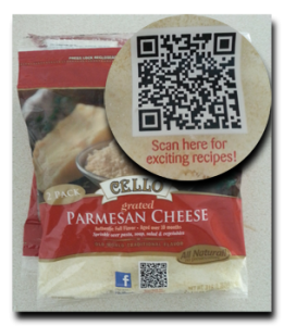 QR code recipes